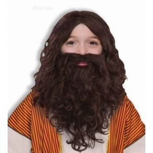 Biblical Wig And Beard Kids