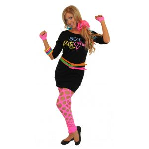 80's Party Girl Dress