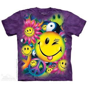 Peace and Happiness Ladies Tee