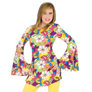 Flower Power Hippie Tunic