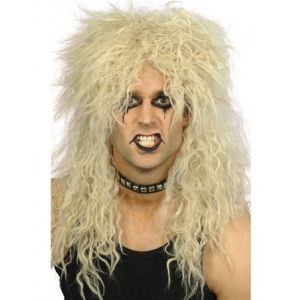 Hard Rocker 80's Wig Blonde