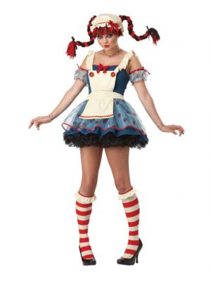 bba9770c5d7 Rag Doll Halloween Costume (Teen)