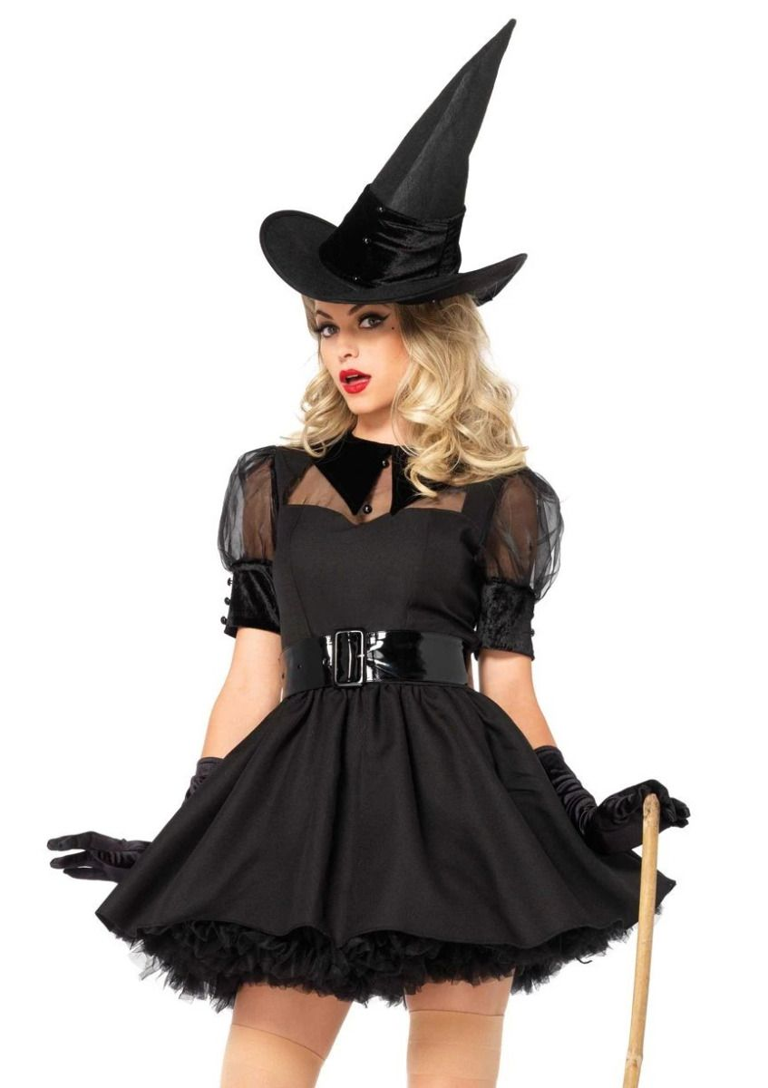 Brand New Bewitching Witch Plus Size Costume
